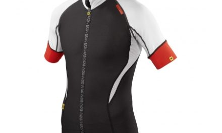 Cykeltrøje Mavic HC sort/hvid/rød