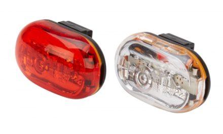 D.Light CG400 – Lygtesæt  med batteri – flere funktioner – Med klik beslag