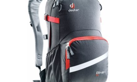 Deuter Bike One – Rygsæk – 14 liter – Grå/Koral