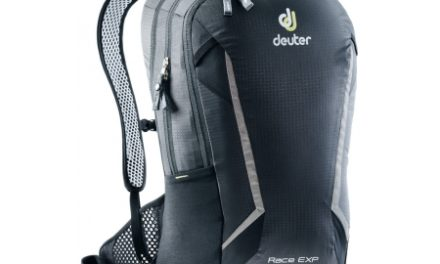 Deuter Race EXP Air – Rygsæk – 14 + 3 liter – Sort