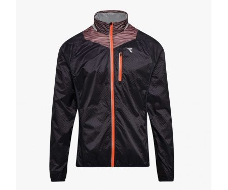 Diadora – Bright Jacket – Vindtæt løbejakke – Herre – Sort