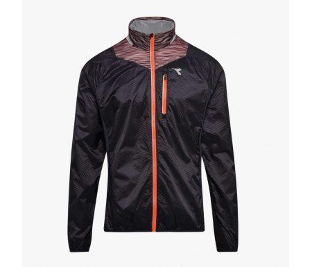 Diadora – Bright Jacket – Vindtæt løbejakke – Herre – Sort