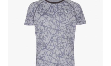 Diadora Bright SS – Løbe t-shirt – Herre – Grå