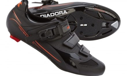 Diadora – Cykelsko Trivex Plus III Unisex – Sort/Rød