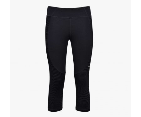 Diadora – L. 3/4 Tight – 3/4 løbetights – Dame – Sort