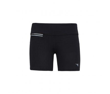 Diadora – L.STC Shorts – Korte løbetights – Dame – Sort