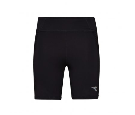 Diadora – L. STC shorts – Løbetights – Dame – Sort