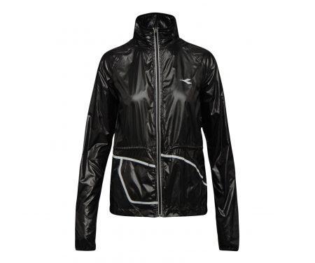 Diadora L. Wind Jacket – Løbejakke Dame – Sort