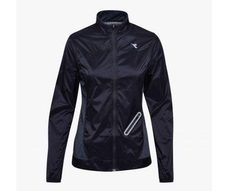 Diadora – L. Wind Jacket – Vindtæt løbejakke – Dame – Sort
