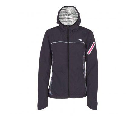 Diadora – L. Wind Jacket Win – Løbejakke – Dame – sort
