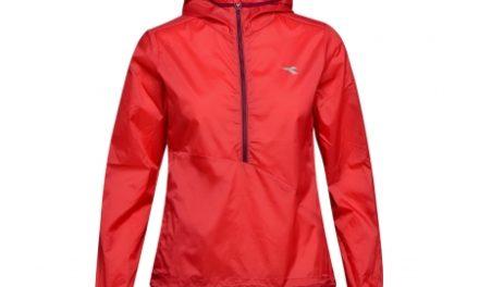 Diadora L. X-Run Jacket – Løbejakke Dame – Rød