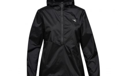 Diadora L. X-Run Jacket – Løbejakke Dame – Sort