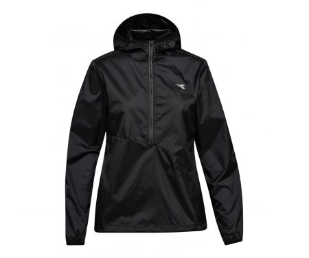 Diadora L. X-Run Jacket – Løbejakke Dame – Sort