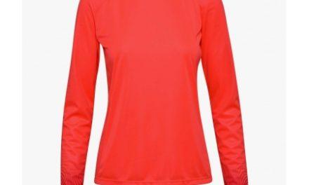 Diadora – L. X-run LS T-shirt – Løbebluse – Dame – Koral