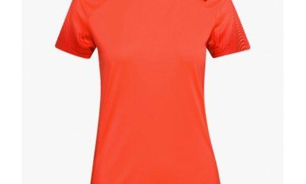 Diadora – L. X-run SS T-shirt – Løbe t-shirt – Dame – Koral