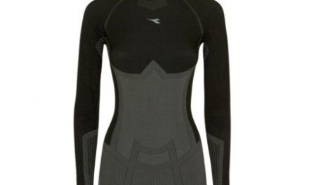 Diadora langærmet undertrøje – Dame – L. Turtle Neck-seamless