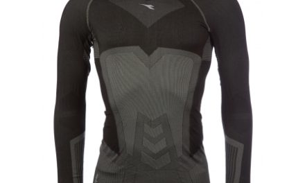 Diadora langærmet undertrøje – Herre – Turtle neck seamless