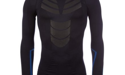 Diadora løbe t-shirt – Herre – Win LS Seamless – Saltire Navy
