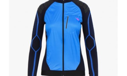 Diadora løbejakke – Dame – L. Jacket Win-Seamless – Saltire Navy