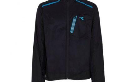 Diadora løbejakke unisex – U.STC Wind Jacket – Sort