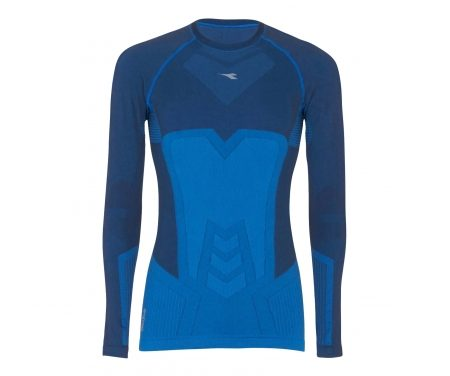 Diadora – LS T-shirt ACT – Basislag – Herre – Blå