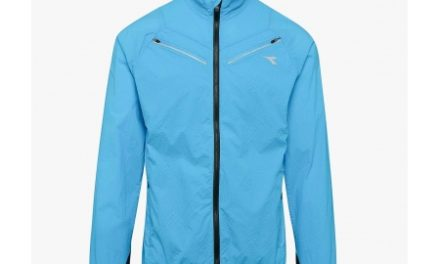 Diadora – Luminex Wind Jacket – Løbejakke – Herre – Turkis