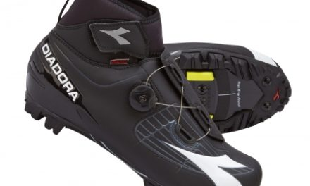 Diadora Polarex Plus – Vinter cykelsko – Sort