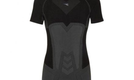 Diadora svedundertrøje – Herre – SS T-shirt-Seamless – Sort