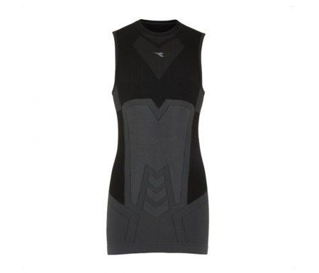 Diadora tanktop – Herre – Sleeveless T-shirt-Seamless – Sort
