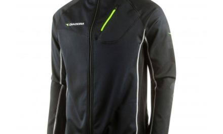Diadora – Thermo vinter cykeljakke – Sort