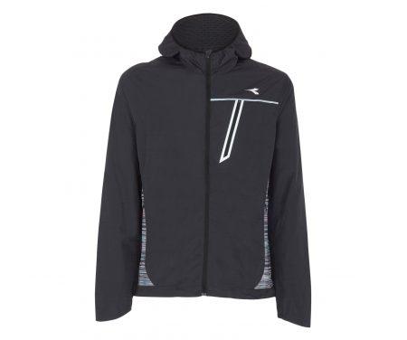 Diadora – Wind Jacket – Løbejakke – Herre – Sort