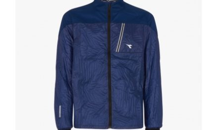 Diadora Wind Lock Jacket – Løbejakke – Herre – Mørkeblå