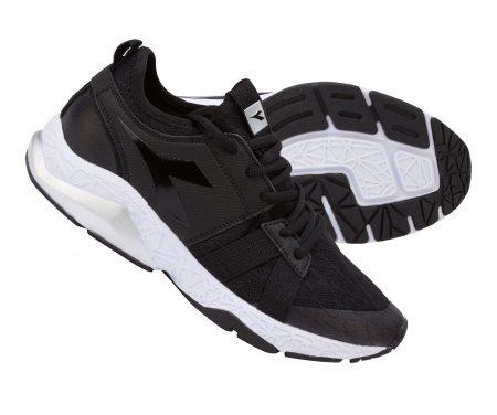 Diadora – X Run Evo – Løbesko – Dame – Sort/Hvid