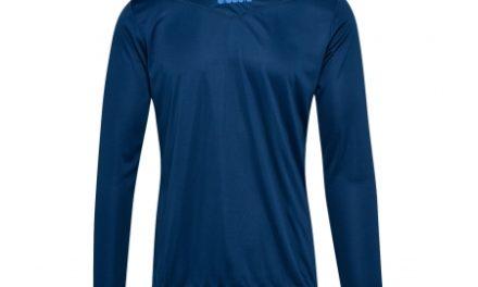 Diadora X-Run LS T-Shirt – Lange Ærmer Herre – Blå