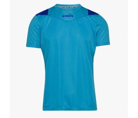 Diadora – X-run SS T-shirt – Løbe t-shirt – Herre – Turkis