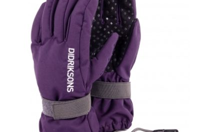 Didriksons Biggles Five Kids Gloves – Handske Børn – Lilla