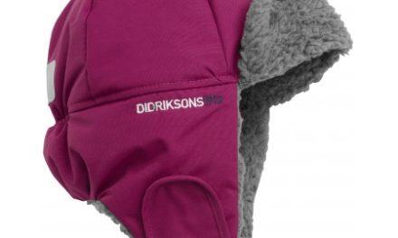 Didriksons Biggles Kids Cap – Hue – Mørk lilla – Str. 56 cm