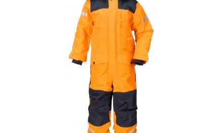 Didriksons Björnen Kids Coverall – Flyverdragt – Orange