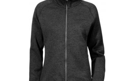 Didriksons Cleo Wns Jkt – Fleece – Sort