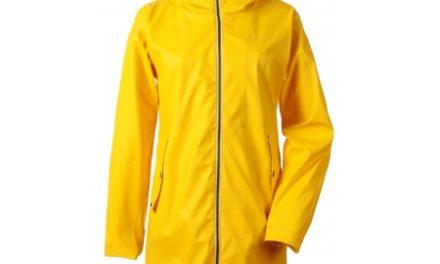 Didriksons Daisy Womens Jacket – Regnfrakke Dame – Gul