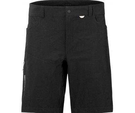 Didriksons Dewin Mens Shorts – Softshellshorts Mand – Sort
