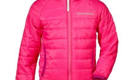 Didriksons Dundret Kids – Overgangsjakke – Pink