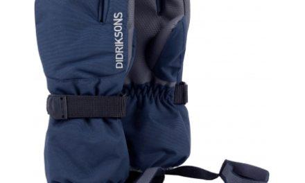 Didriksons Fossa Kids Three-Finger Gloves – Handske Børn – Navy