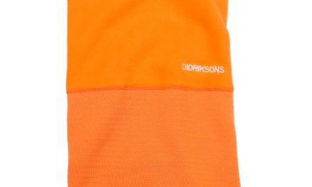 Didriksons Kids Fleece Tube Scarf – Halsedisse Børn – Orange – One Size