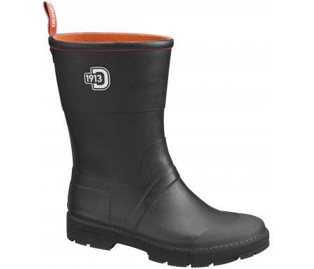 Didriksons Kornö Mens Rubber Boots – Gummistøvle Mand – Sort