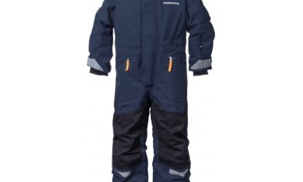 Didriksons Lynge Kids Coverall – Flyverdragt – Navy