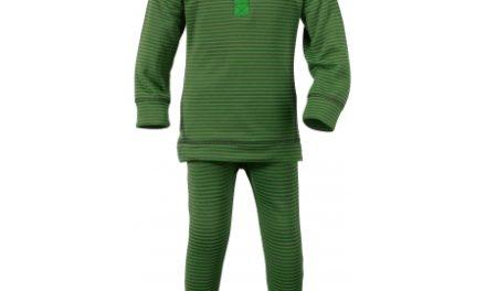 Didriksons Moarri Kids – Skiundertøj – Grøn