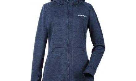 Didriksons Ninna Womens Jacket – Fleecejakke Dame – Navy
