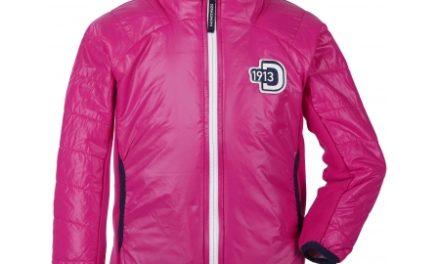 Didriksons Råne Kids Jacket – Fiberjakke Børn – Pink