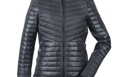 Didriksons Rima Womens Jacket – Fiberjakke Dame – Sort